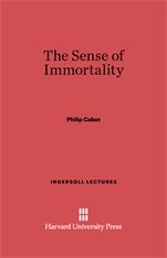 Cover: The Sense of Immortality