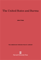 Cover: The United States and Burma