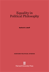 Cover: Equality in Political Philosophy