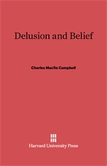 Cover: Delusion and Belief