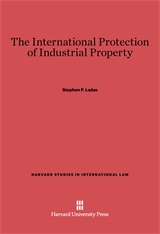 Cover: The International Protection of Industrial Property