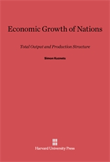 Cover: Economic Growth of Nations: Total Output and Production Structure