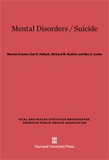 Cover: Mental Disorders / Suicide in E-DITION