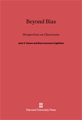 Cover: Beyond Bias: Perspectives on Classrooms