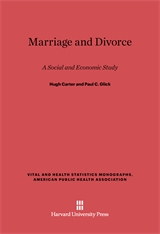 Cover: Marriage and Divorce: A Social and Economic Study, Revised Edition