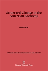 Cover: Structural Change in the American Economy