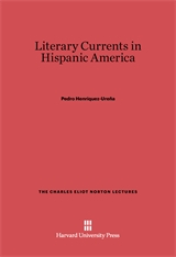 Cover: Literary Currents in Hispanic America