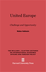 Cover: United Europe: Challenge and Opportunity