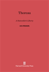 Cover: Thoreau: A Naturalist's Liberty