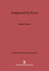 Cover: Judgment by Peers