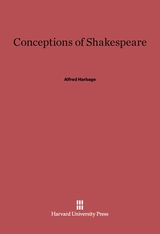 Cover: Conceptions of Shakespeare