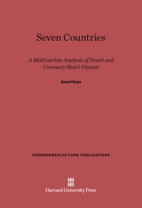 Cover: Seven Countries: A Multivariate Analysis of Death and Coronary Heart Disease