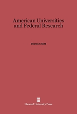 Cover: American Universities and Federal Research