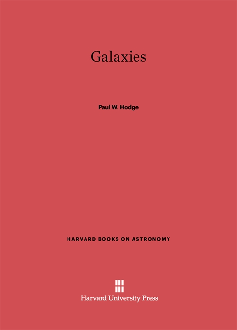 Cover: Galaxies, from Harvard University Press