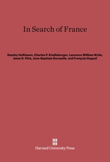 Cover: In Search of France
