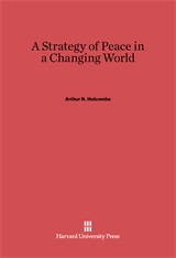 Cover: A Strategy of Peace in a Changing World