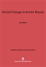 Cover: Social Change in Soviet Russia in E-DITION
