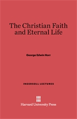 Cover: The Christian Faith and Eternal Life