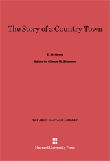 Cover: The Story of a Country Town