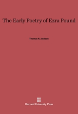 Cover: The Early Poetry of Ezra Pound