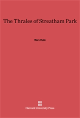 Cover: The Thrales of Streatham Park
