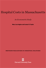 Cover: Hospital Costs in Massachusetts: An Econometric Study