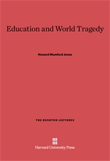 Cover: Education and World Tragedy