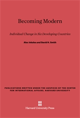 Cover: Becoming Modern: Individual Change in Six Developing Countries
