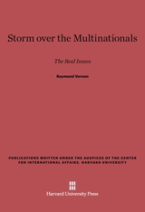 Cover: Storm over the Multinationals: The Real Issues