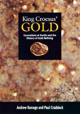 Cover: King Croesus' Gold: Excavations at Sardis and the History of Gold Refining