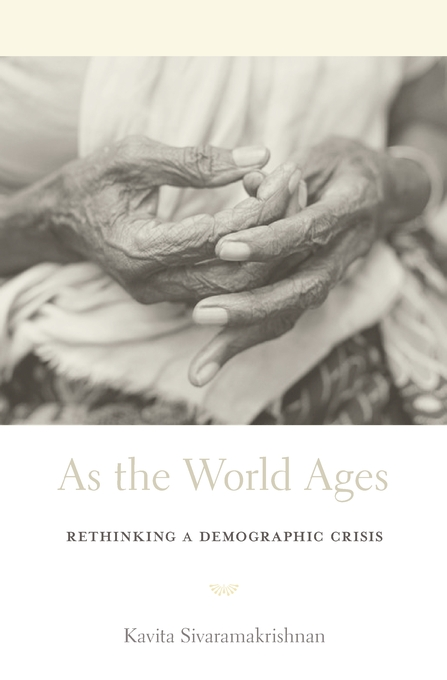 Cover: As the World Ages: Rethinking a Demographic Crisis, from Harvard University Press