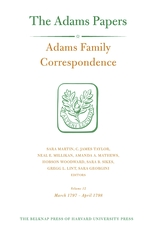 Cover: Adams Family Correspondence, Volume 12: March 1797 – April 1798