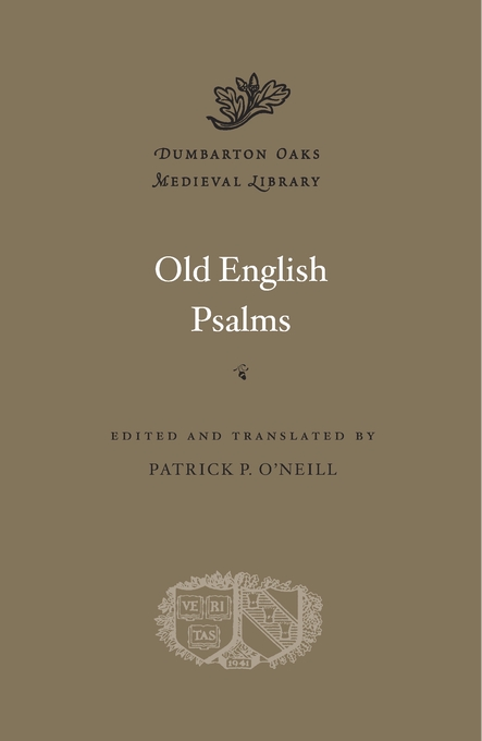 Cover: Old English Psalms, from Harvard University Press