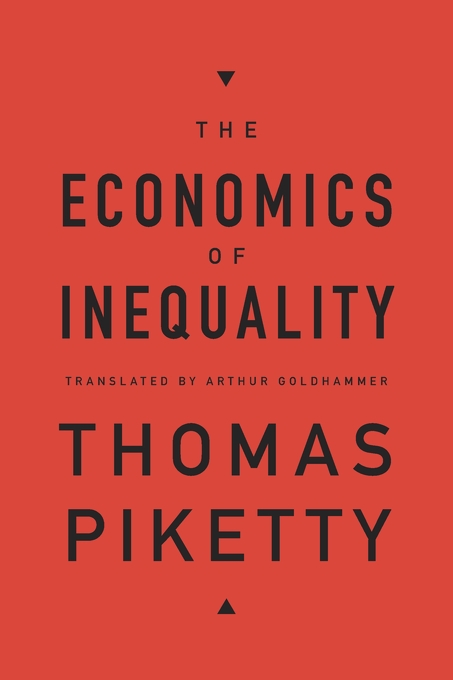Cover: The Economics of Inequality, from Harvard University Press