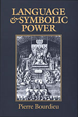 Cover: Language and Symbolic Power