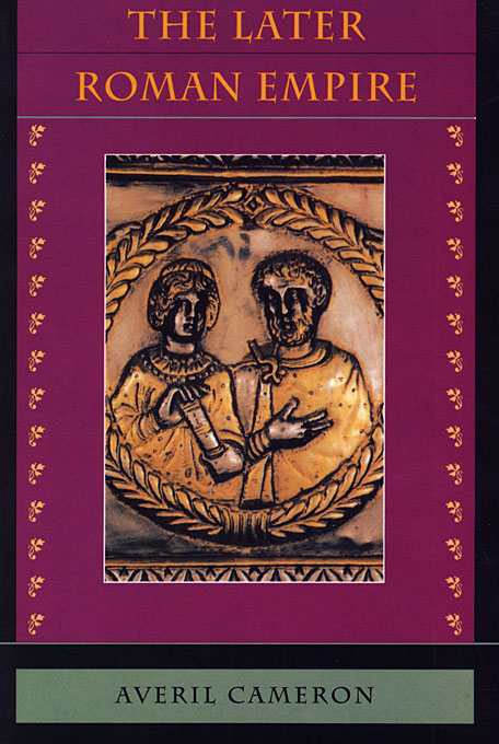 Cover: The Later Roman Empire, from Harvard University Press