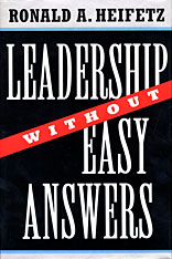 Cover: Leadership Without Easy Answers in HARDCOVER