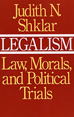 Cover: Legalism in PAPERBACK