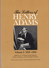 Cover: The Letters of Henry Adams, Volumes 1-3: 1858-1892