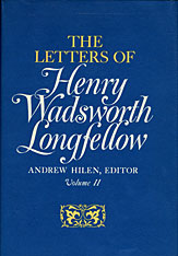 Cover: The Letters of Henry Wadsworth Longfellow, Volume I-II: 1814–1843