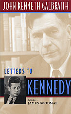 Cover: Letters to Kennedy in HARDCOVER