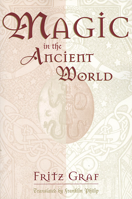 Cover: Magic in the Ancient World, from Harvard University Press