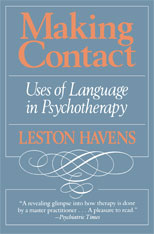 Cover: Making Contact: Uses of Language in Psychotherapy