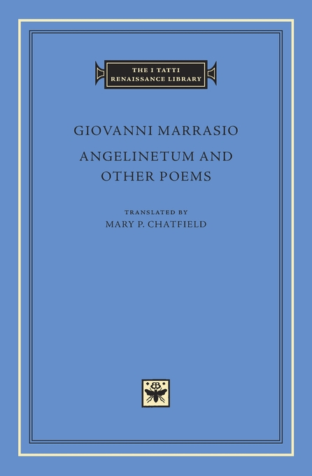 Cover: Angelinetum and Other Poems, from Harvard University Press
