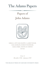 Cover: Papers of John Adams, Volume 18 in HARDCOVER