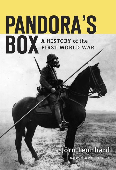 Cover: Pandora's Box: A History of the First World War, from Harvard University Press
