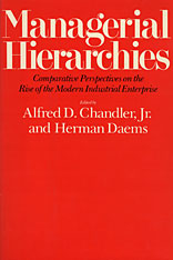 Cover: Managerial Hierarchies in PAPERBACK