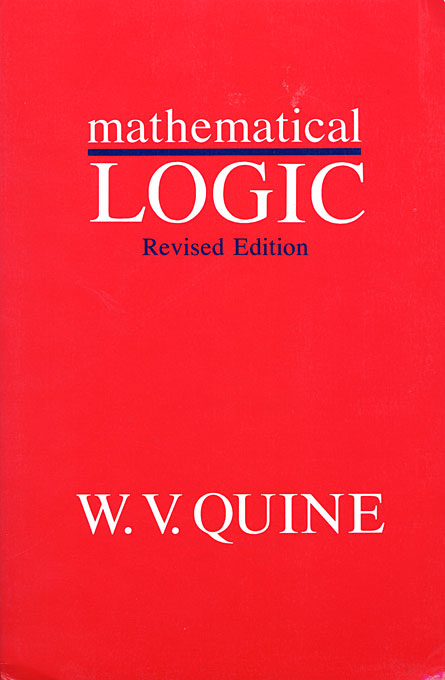 Cover: Mathematical Logic, Revised Edition, from Harvard University Press