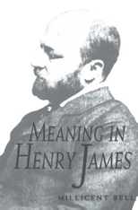Cover: Meaning in Henry James