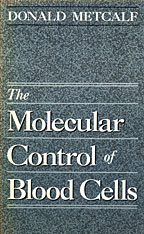 Cover: The Molecular Control of Blood Cells